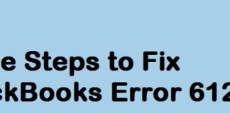 Some Steps to Fix QuickBooks Error 6123