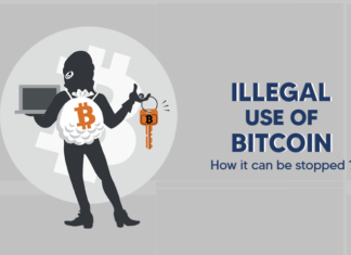 Illegal use of Bitcoin