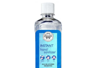 Hand Sanitizer Instant Hand Sanitizer 500ml The Love Co