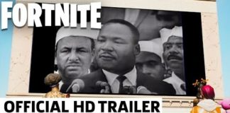 Hannawears.com Martin Luther King in Fortnite Weird But Educational